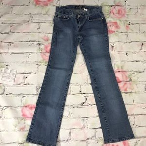Express 90s Vintage Jeans Low Rise Straight Leg